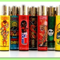Designer Clipper Lighters