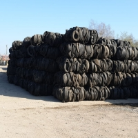 Tyres, Tires In Bales
