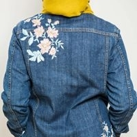 Jeans Jacket With Embroidery