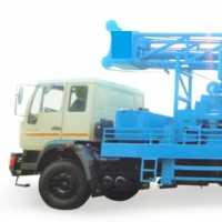 Truck Mounted Direct Rotary Drilling Rig