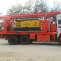 Tractor Mounted Rotary Piling Rig