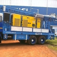 Truck Mounted Rotary Cum DTH & Core Drilling Rig