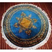 Hand Woven Kashmiri Carpet