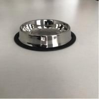 Stainless Steel Anti Skid Dog Bowl