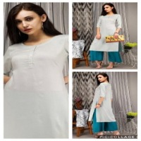 Rayon Embroided Kurta With Pant