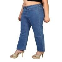 Ladies Blue Regular Fit Jeans
