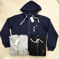 Solid Polo Hoody