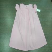 Girls Kids Pink Cotton Frock