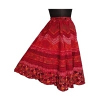 Ladies Cotton Rayon Long Skirts