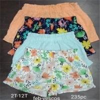 Cotton Lycra Multicolrs Kids Shorts