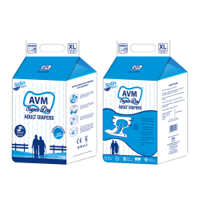 AVM Super Dry Comfort Extra Large Adult Diapers