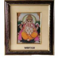 Lord Ganesha Wooden Frame