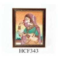 Rajasthani Girl Frame Hooklet
