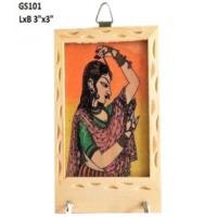 Rajasthani Girl Keychain Hooklet