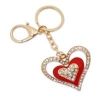 Single Heart Keychain