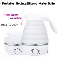 Portable Folding Silicone Water Boiler