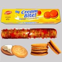 Mango Big Cream Bite Cream Biscuits