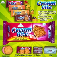 Cream Bite Biscuits