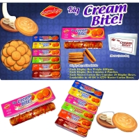 Big Cream Bite Cream Sandwich Biscuits