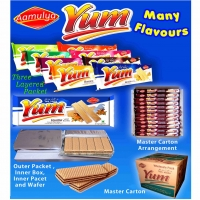 Cream Wafers & Yum Wafer Biscuits