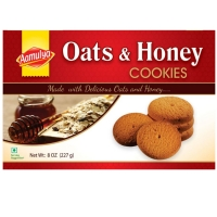Oats And Honey Cookie Biscuits