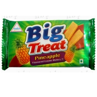 Pineapple Cream Wafers Or Wafer Biscuits