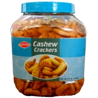 Cashew Crackers Or Crunchy Biscuits