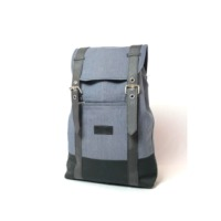 Denim Backpack With Padding