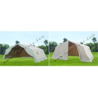 4x4 m family relief frame type tent