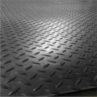 Stable Rubber Mat Checked Top 17mm