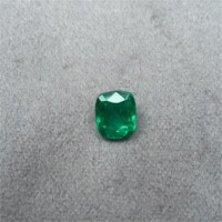 Colombian Emerald Ref 2/2 Cushion