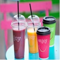 Juice Paper Cups & Juice Plastic Cups