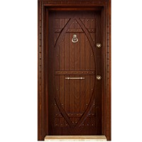 B- Embossed Panel Security Doors