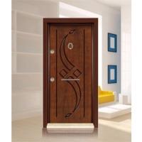 E- Rustic Panel Steel Security Doors