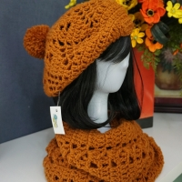 Beret Hat And Scarf