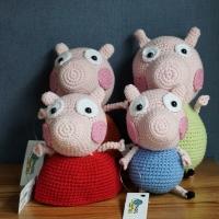 Crochet Peppa Pig Family