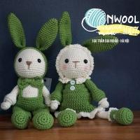 Crochet Handmade Bunny Couple