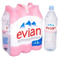 Mineral & Sparkling Water, Evian & Perrier