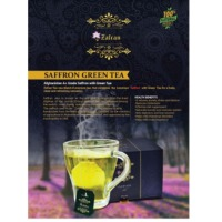 Saffron Green Tea
