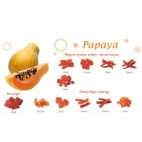 Dried Papaya - Slice / Chunk / Stick / Dice