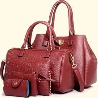 Ladies Tote Bag 5pcs Handbag Sets