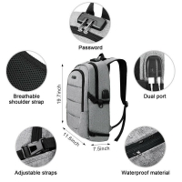 Anti- Theft Backpack