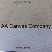 Primed Canvas Fabric