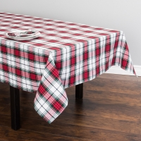 Cotton Yarn Dyed Plaid Table Cloth