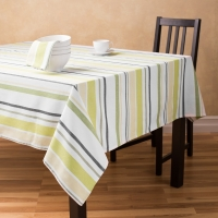 Cotton Yarn Dyed Stripe Table Cloth