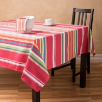 100% Cotton Yarn Dyed Table Cloth