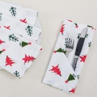 100% Cotton Customized Christmas Napkin