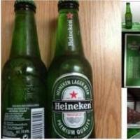 Heinekens Larger Beer In Bottles In 250ml
