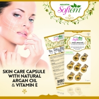 Argan Oil Vitamin E Skin Care Capsule