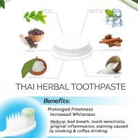 Thai Herbal Organic Whitening Toothpaste